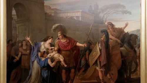 Épisode 5 : Diomède, Ulysse et Patrocle racontent l'arrivée d'Hector dans les combats