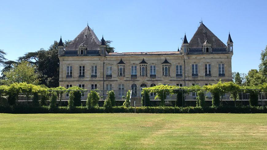 Le Château du Haillan siège des Girondins de Bordeaux