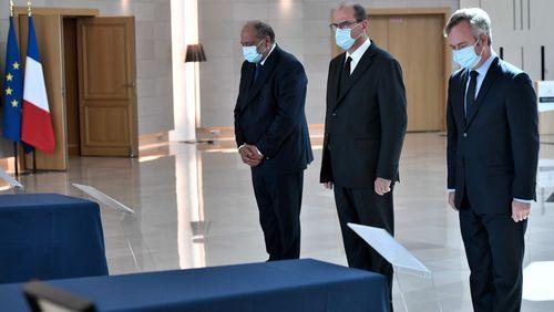 Jean Castex rend hommage aux six humanitaires français tués au Niger
