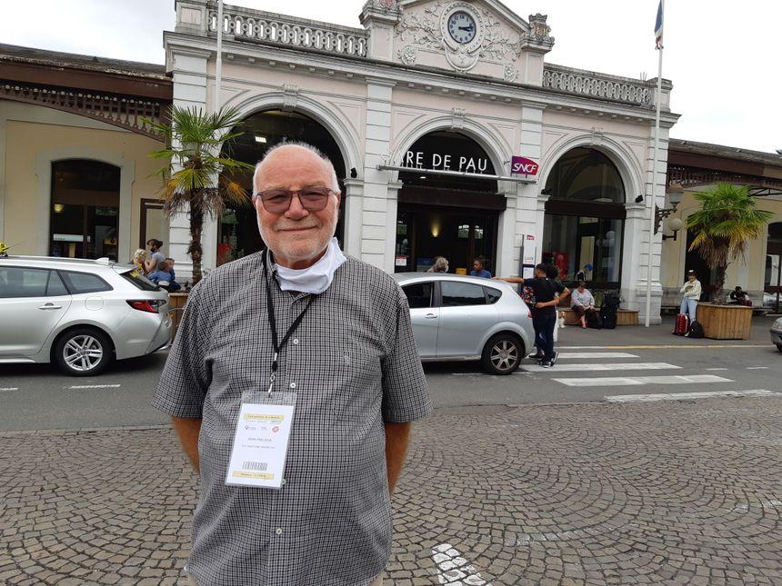 Jean Frileux est vice-président de la DUT (Défense des Usagers des Transports) en zone Aquitaine et Grand Pau.