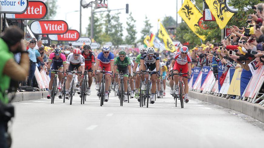 En 2014, la 4e étape du Tour de France reliait le Touquet à Villeneuve d'Ascq