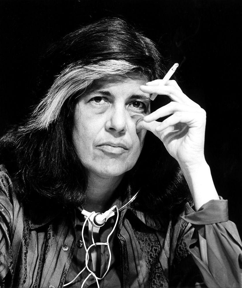 Susan Sontag en 1986