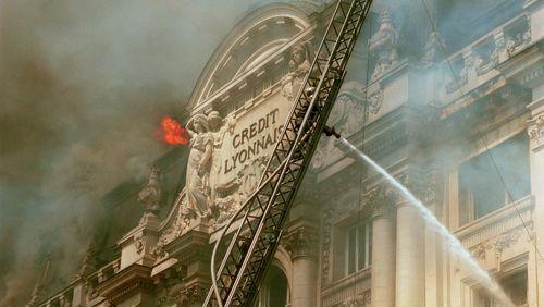 L'incendie au Crédit lyonnais (Paris)