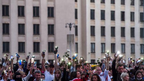 L'Europe sanctionne la répression au Bélarus