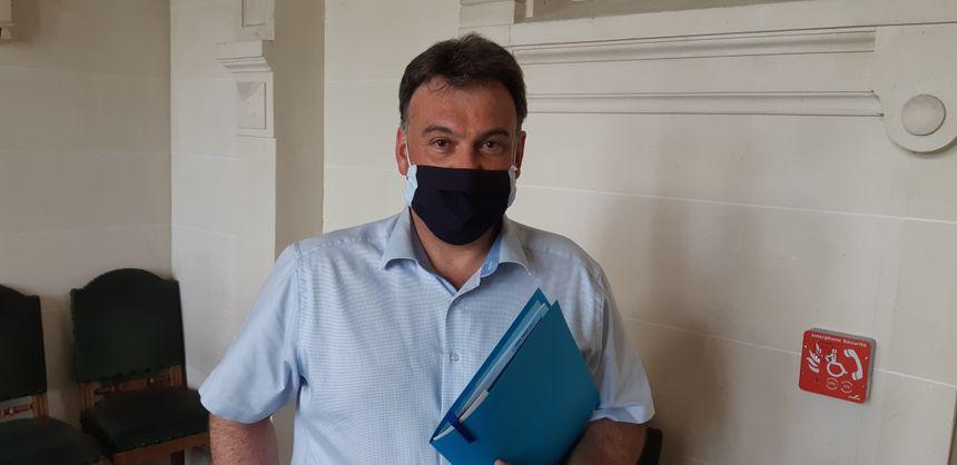 Le principe de précaution doit s'appliquer pour David Salque-Pradier, le maire de Tence