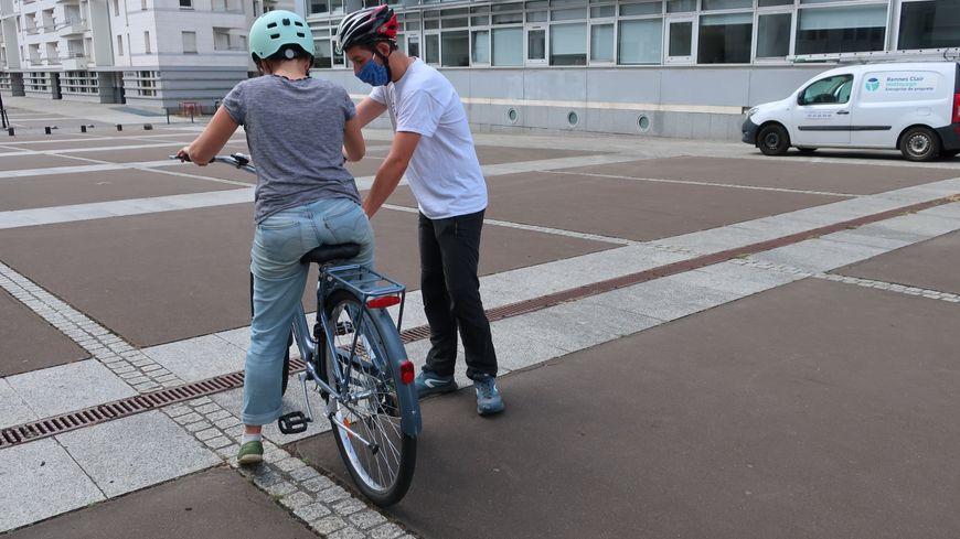 Rennes Le Succes Des Cours De Velo Pour Adultes