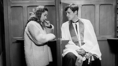 """Épisode 7 : """"Cinéma pour les ondes"""" : """"Léon Morin, prêtre"""" de Jean-Pierre Melville avec Jean-Paul Belmondo et Emmanuelle Riva"""