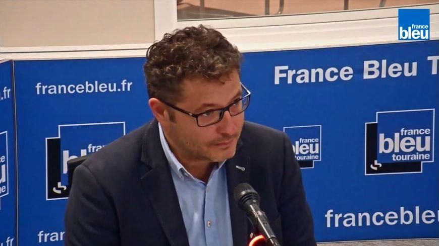 Vincent Louault, maire de Cigogné et président de la communauté de communes Bléré Val de Cher