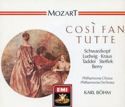 Così fan tutte : Il core vi dono (Acte II Sc 2) Dorabella et Guglielmo - CHRISTA LUDWIG