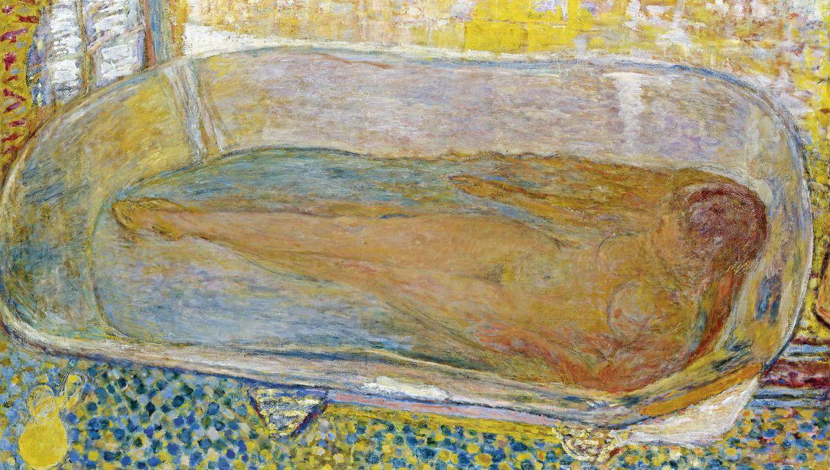 Laurent Mauvignier Nu Dans Le Bain De Pierre Bonnard Pour Triompher De La Vieillesse Et De La Mort