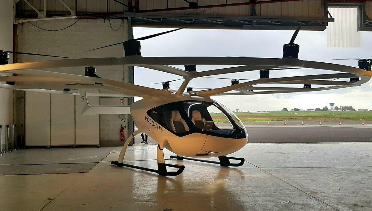 Ile-de-France : des taxis volants pour les JO de 2024