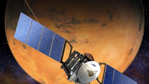 De l'eau liquide sous la surface de Mars ?