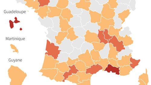 Nouvelle carte épidémique de la France : sur quels chiffres se base le gouvernement ?
