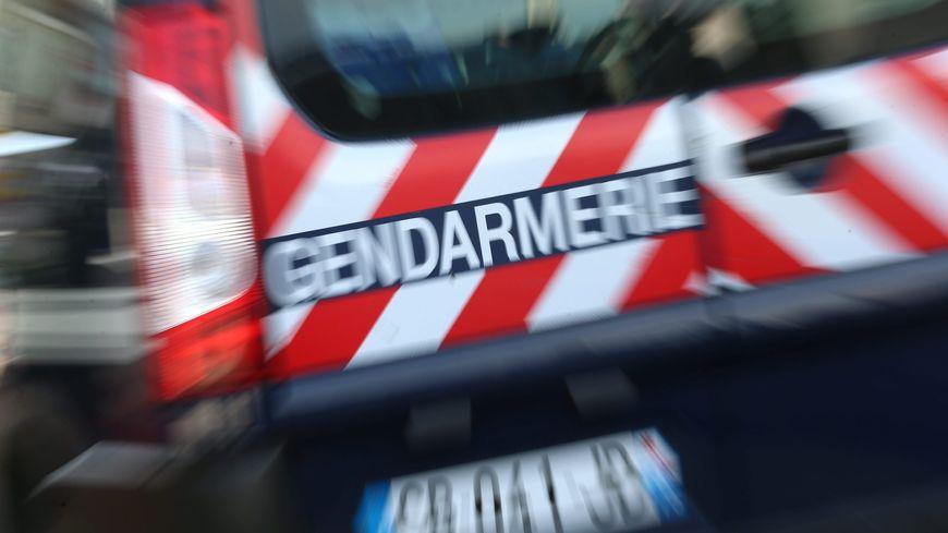 Un véhicule de gendarmerie - ILLUSTRATION
