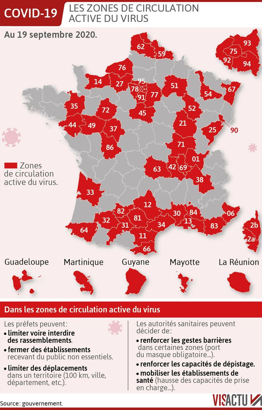 Covid 19 Le Doubs Passe En Zone Rouge