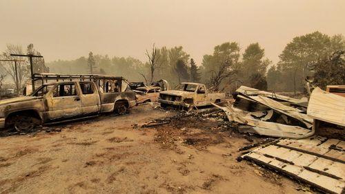 """Incendies dans l'Oregon : """"Ça ressemble à l'apocalypse"""""""