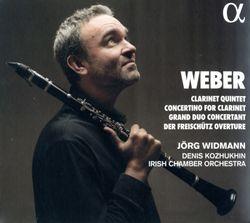 Quintette pour clarinette en Si bémol Maj op 34 J 182 : 3. Menuet - Trio. Capriccio presto - pour clarinette et orchestre de chambre - JORG WIDMANN