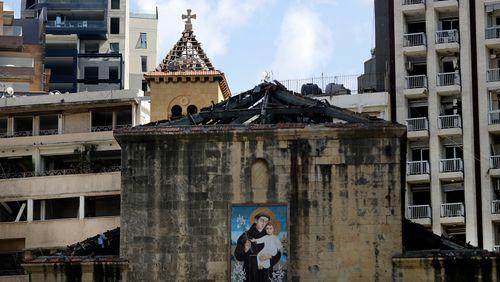 Mgr Gollnisch, L'Œuvre d'Orient au Liban