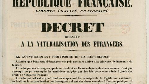 Épisode 7 : Le droit de la citoyenneté au XIXe siècle
