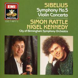 Concerto pour violon en ré min op 47 : 2. Adagio di molto - NIGEL KENNEDY