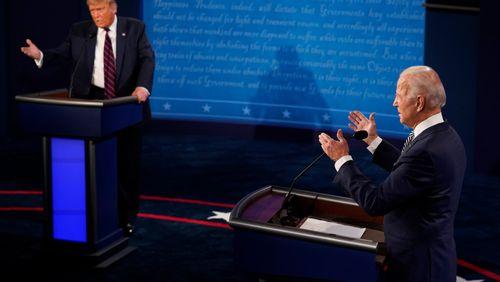 Peut-être le pire débat télévisé de l'histoire des Etats-Unis pour une présidentielle ?