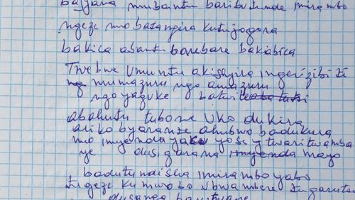 « Voilà la mort que j'ai rencontrée » – écrits orphelins du génocide des Tutsi