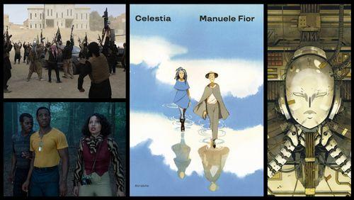 Série : No man's land et Lovecraft Country // BD : Carbone & Silicium de Mathieu Bablet et Celestia de Manuele Fior