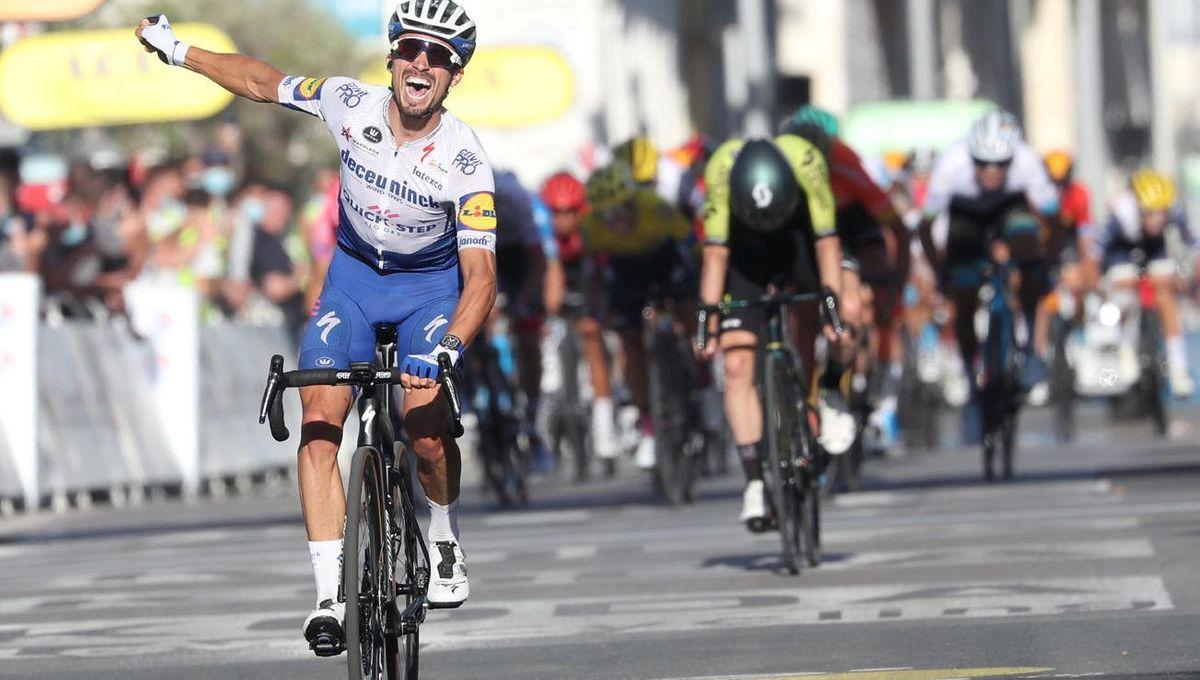 Recit Maillot Jaune Et Victoire D Etape Julian Alaphilippe A Marque Le Tour De France 2020