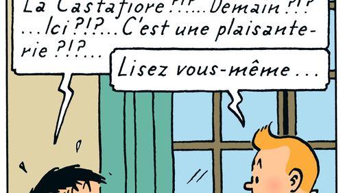 Les Aventures de Tintin : les Bijoux de la Castafiore (1/5) : Une arrivée en fanfare