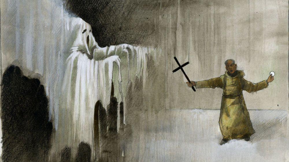 Le moine fantôme