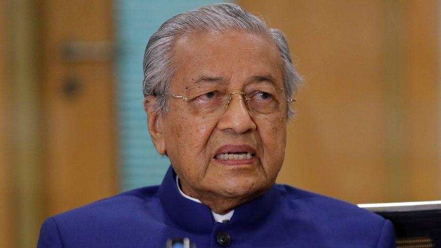 Mahathir Mohamad était Premier ministre de Malaisie, pays à majorité musulmane, jusqu'à la chute de son gouvernement en février.