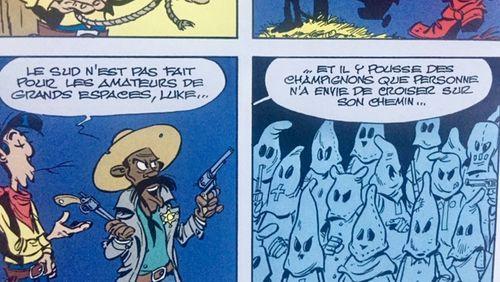Lucky Luke chez les Ku-Klux-Klan