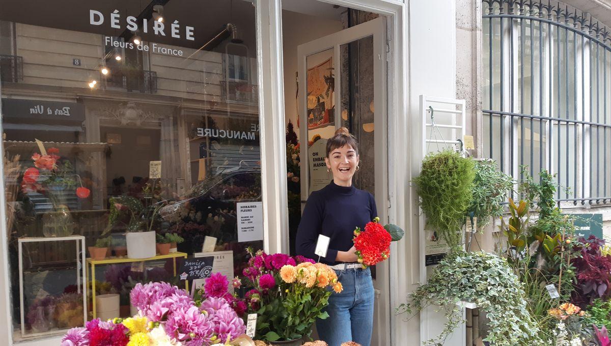 Un café fleuriste 100% fleurs de France, monté par des femmes