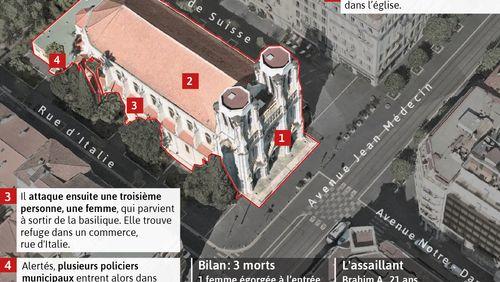 """La France à l'heure du reconfinement et de l'""""urgence attentat"""" après l'attaque au couteau à Nice"""
