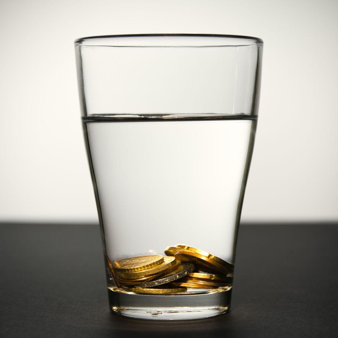 l'eau cotée en bourse