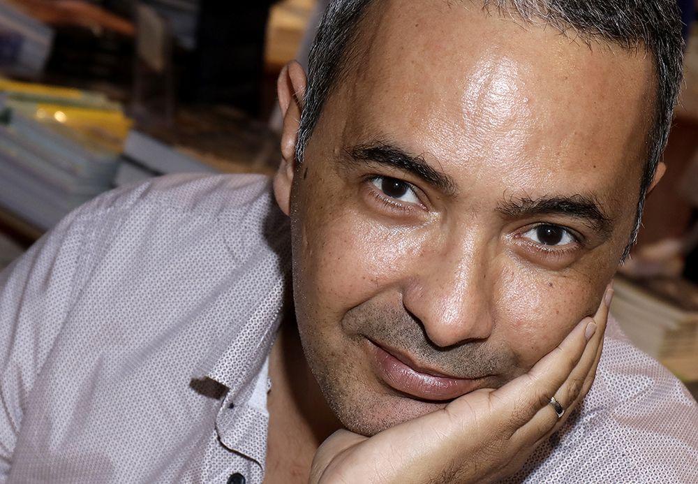 Kamel Daoud en 2017 à Paris