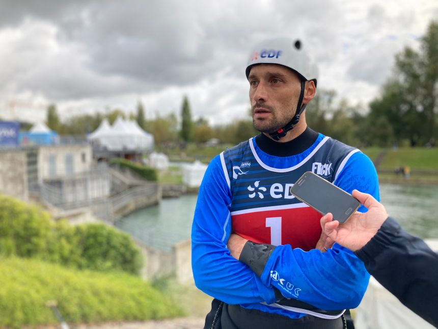 Denis Gargaud-Chanut, champion olympique en 2016 à Rio, ne verra pas Tokyo.