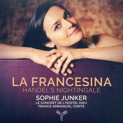 FRANCK EMMANUEL COMTE  SOPHIE JUNKER sur France Musique
