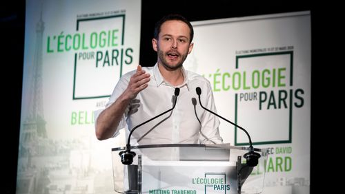 David Belliard, adjoint Europe Ecologie Les Verts à la Mairie de Paris