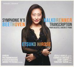 Symphonie n°9 en ré min op 125 : 2. Molto vivace - Presto - arrangement pour  piano - ETSUKO HIROSE