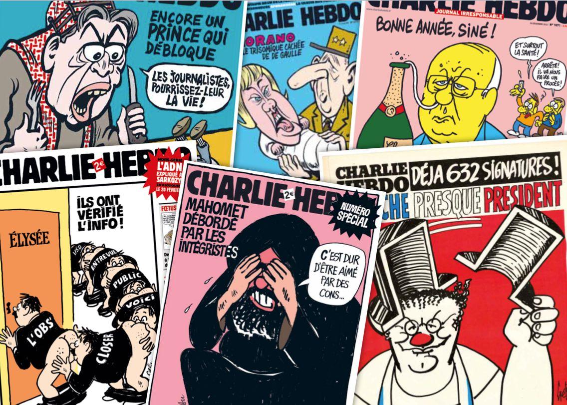 Anniversaire De Charlie Hebdo 50 Ans En 50 Dessins Et Unes