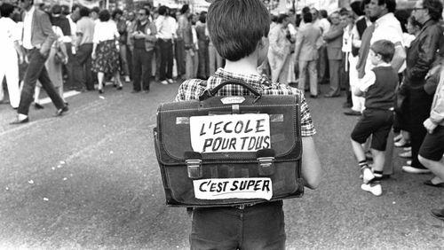 """Épisode 1 : Alain Seksig : """"Lorsque j'ai débuté comme instituteur en 1973 à Belleville, la question de la laïcité ne se posait pas"""""""