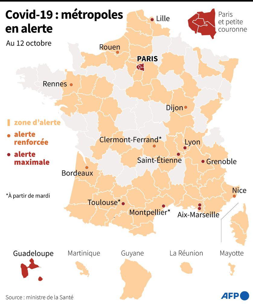 Covid 19 Bientot Un Couvre Feu Nocturne Dans Des Grandes Villes Dont Paris