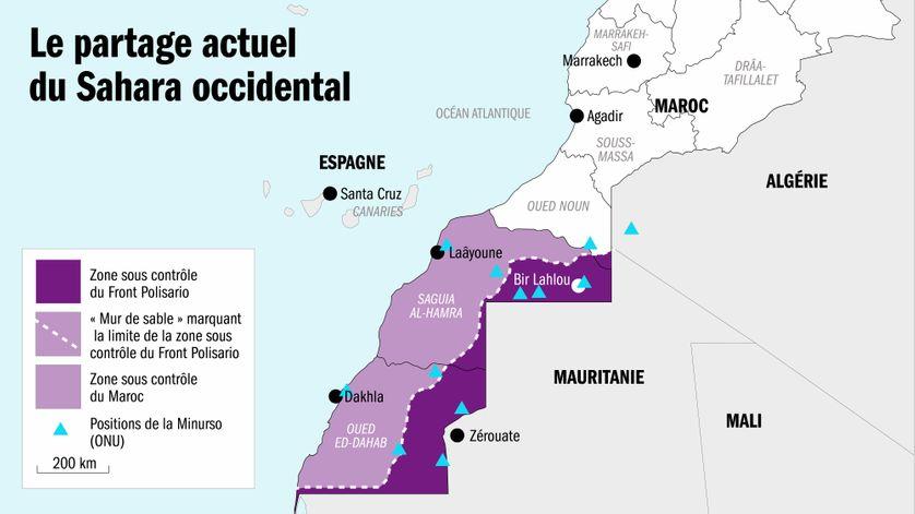 Le statu quo au Sahara occidental