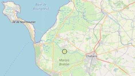 Vendée : la terre a tremblé près de ChallansFrance Bleu