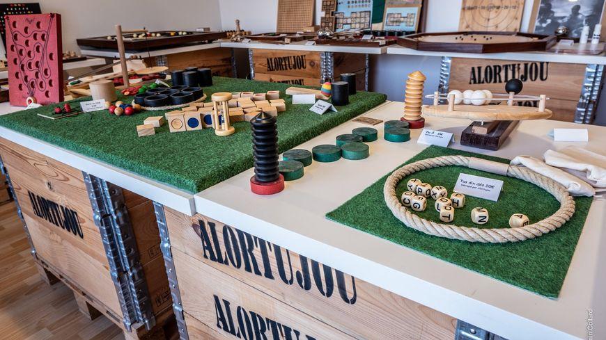 Espace de vente de l'entreprise Alortujou à Céret