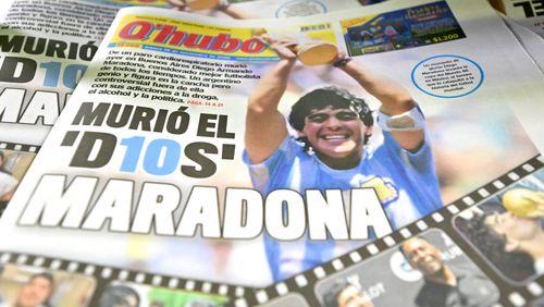 Mort de Maradona, entre ferveur argentine, piège napolitain et rancune anglaise