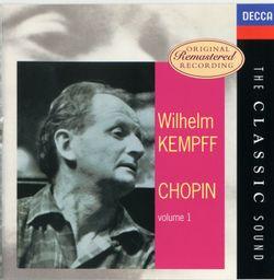 Barcarolle pour piano en Fa dièse Maj op 60 - WILHELM KEMPFF