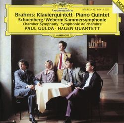 Quintette avec piano en fa min op 34 : 1. Allegro non troppo - LUKAS HAGEN