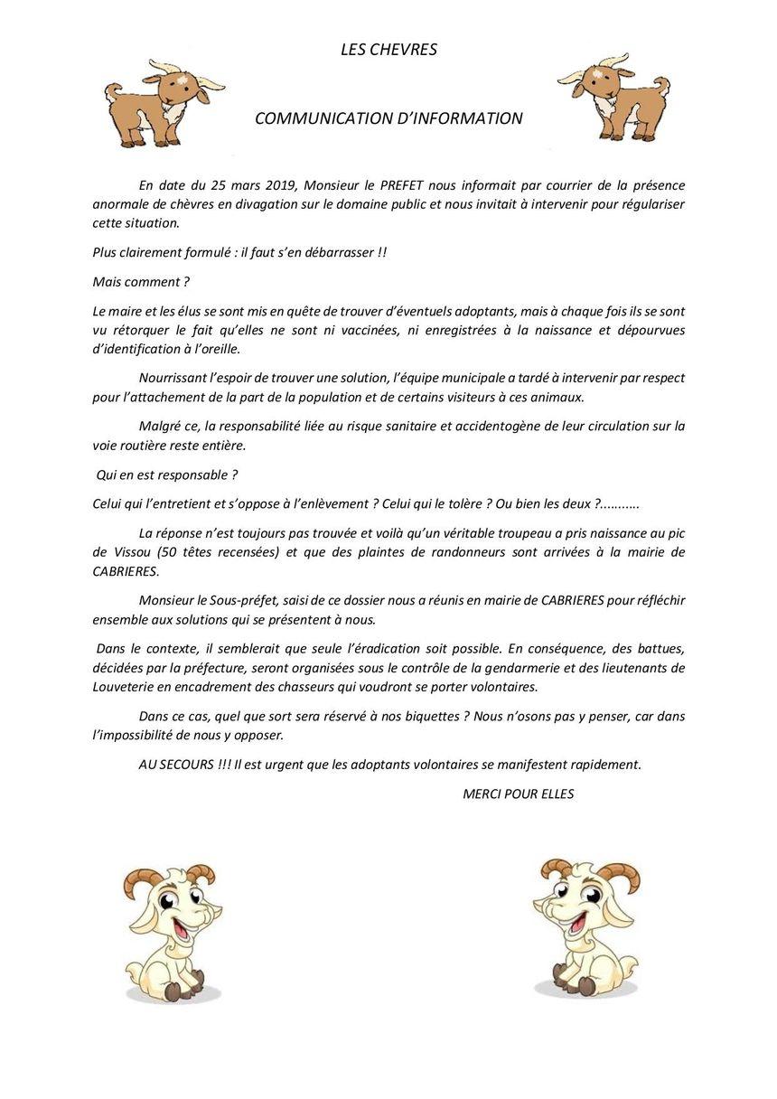 Dans le contexte, il semblerait que seule l'éradication soit possible écrit le maire de Mouréze